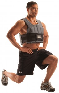 weight vest lunges