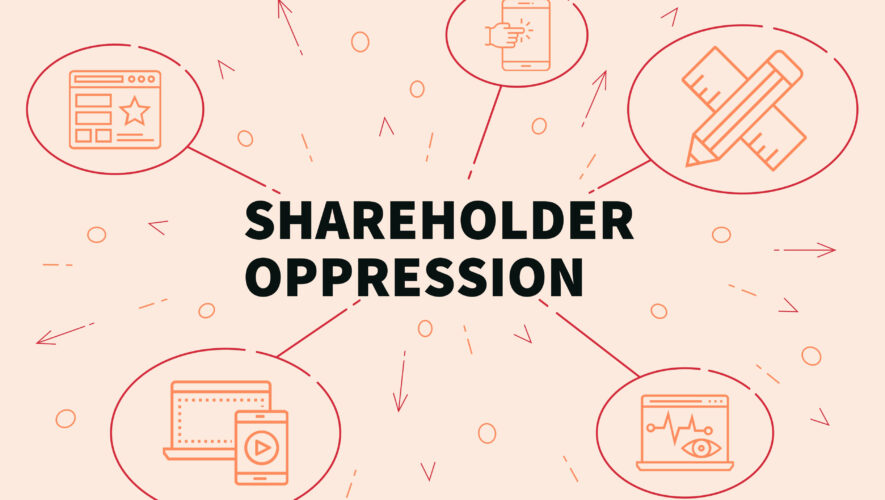 Shareholder oppression graphic