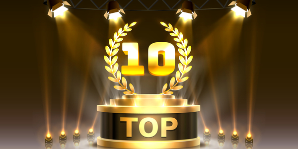 Picture of top 10 trophy