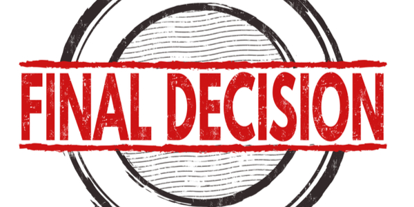 """final decision"" within bullseye"