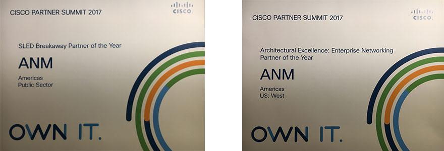 Cisco's SLED Breakaway Partner of the Year