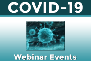 COVID-19 Webinar Events Banner