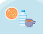 Your Fluid Intake Matters graphic