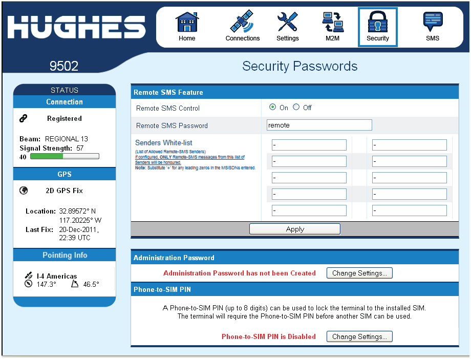 HNS_9502_GUI_Security