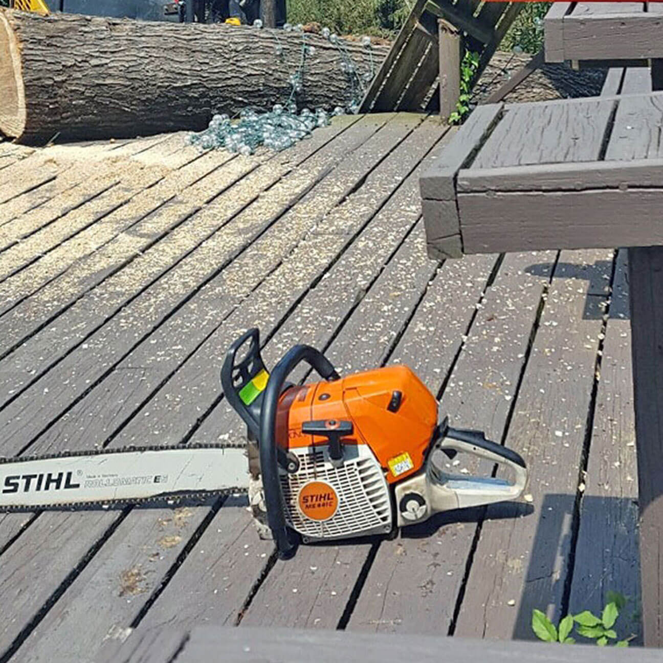 Christian Chipper Service Chainsaw