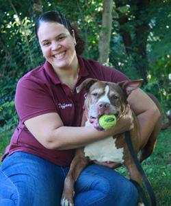 Humane Society of Westchester Staff Member Tiffany Monterola
