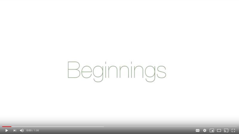 Beginnings video screenshot