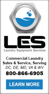 Laundry Equipment Services Commercial Laundry Sales & Service, Serving DC, DE, MD, VA & WV 800-866-6905 Learn More