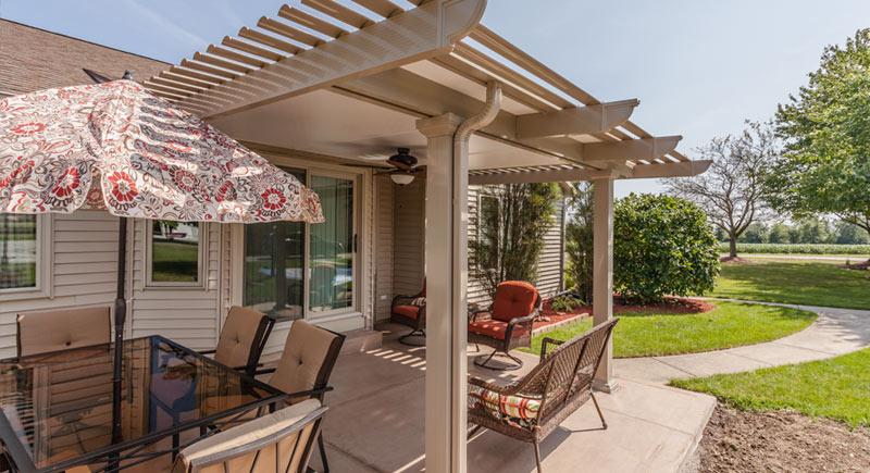 patio cover fort waye