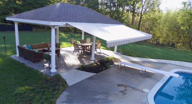 pavilion shade