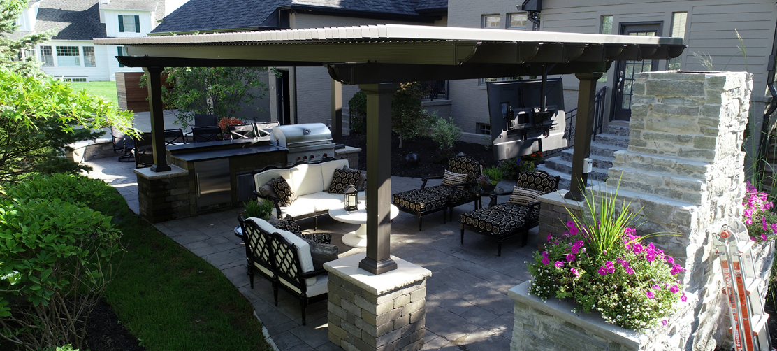 transform outdoor space with pergola