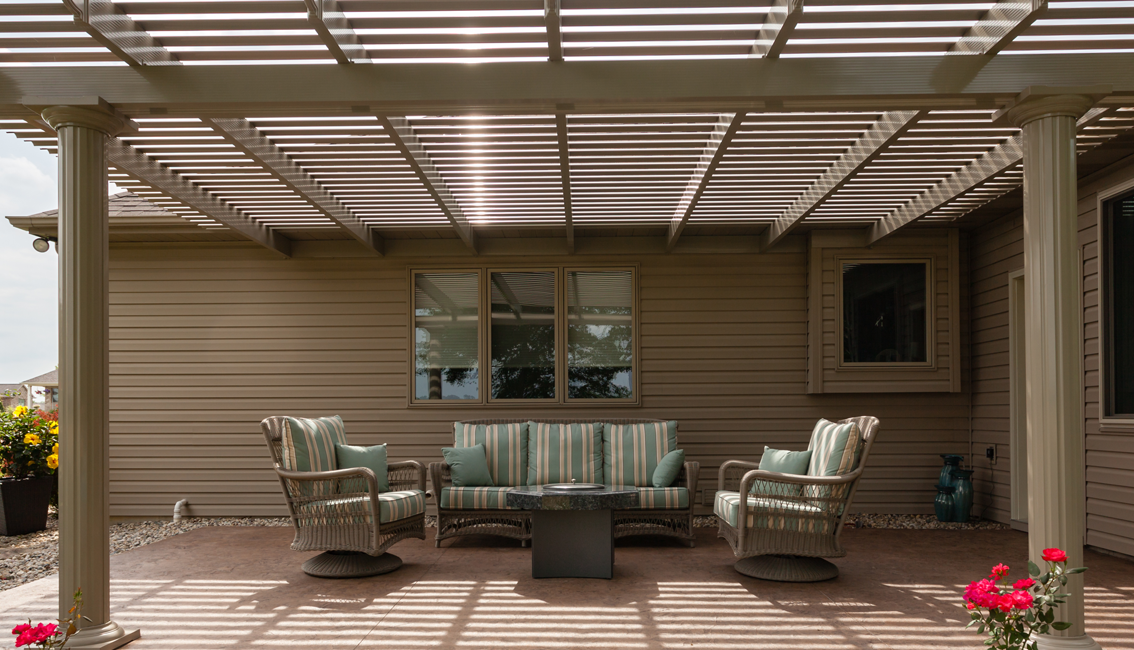ways to use your pergola in winter