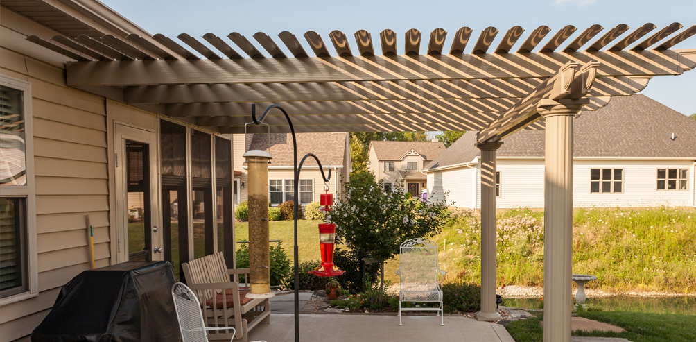 what is a pergola used for