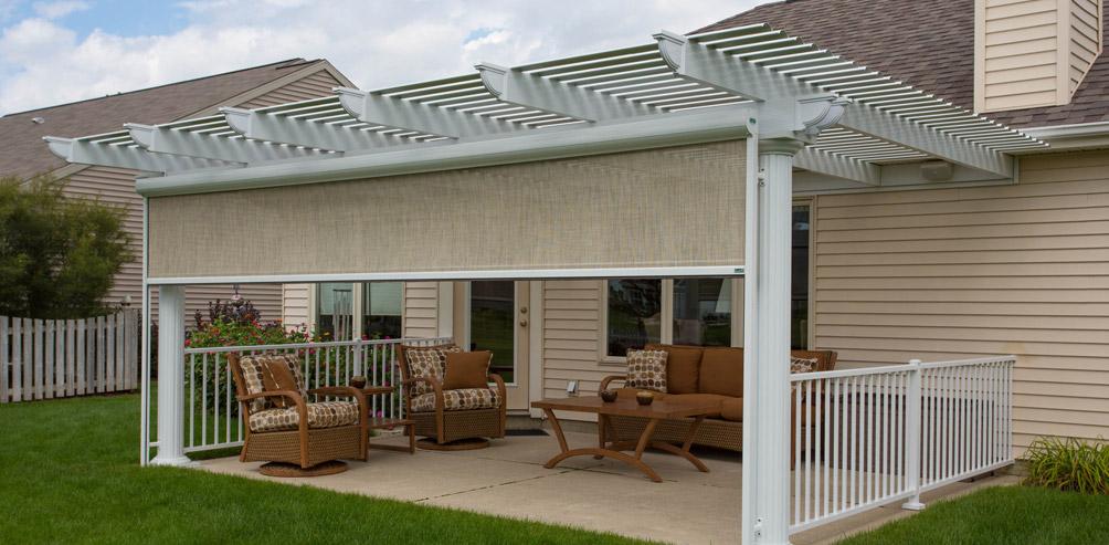 patio shade screens