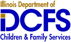 Illinois Deptartment of Children & Family Services logo