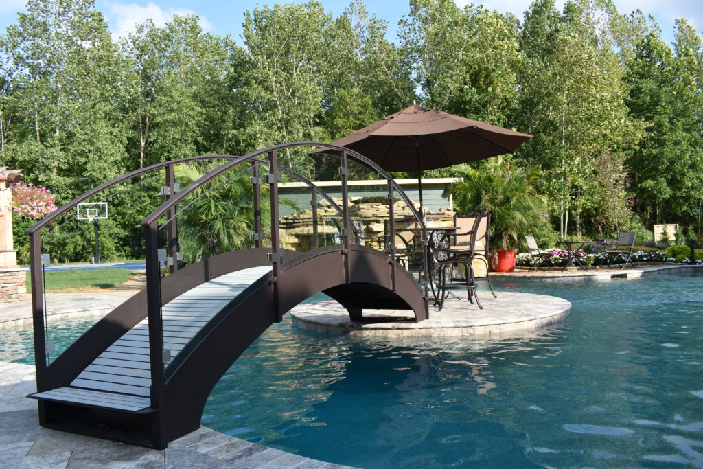 We specialize in making custom pool bridges too!