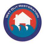 wet out restoration logo
