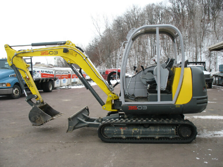 Wacker Neuson 3503 Mini Excavator. Rent it today!