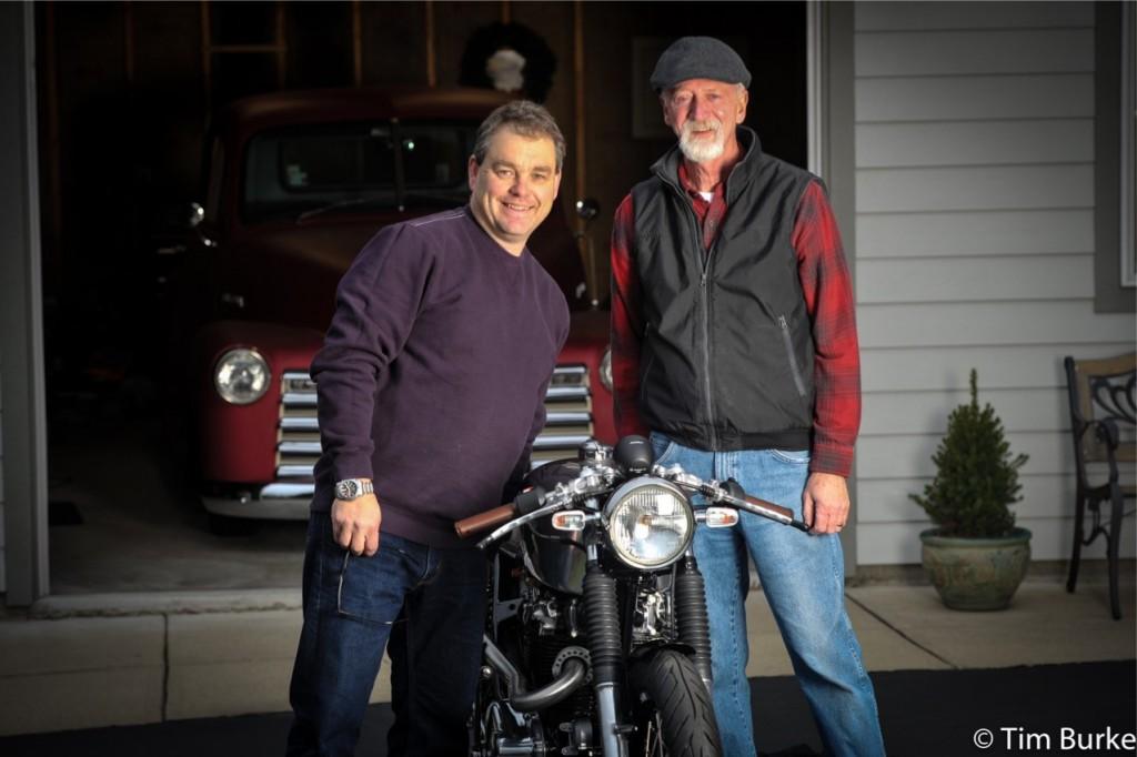 Bill DeVore (photog) and Bill Hovis - Owner of Ava