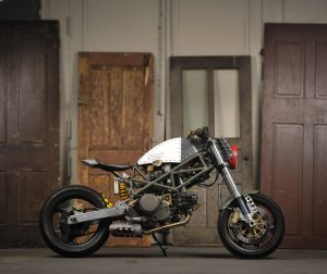 Eric Buchholz's Custom Ducati monster