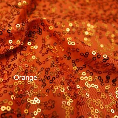 Orange Zsa Zsa w/ Black Mesh
