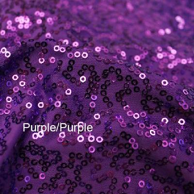 Purple Zsa-Zsa and Deep Purple Tricot