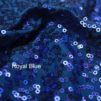 Royal Blue Zsa Zsa w/ Black Mesh