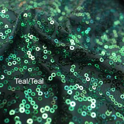 Teal/Teal Zsa Zsa w/ Black Mesh
