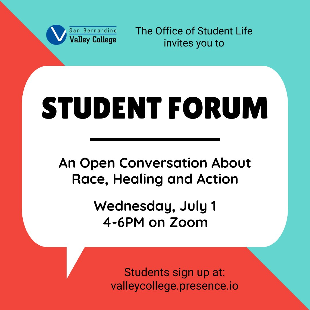 Student Forum: An Open Conversation About Race, Healing and Action