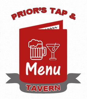 Prior's Tap and Tavern Drink Menu