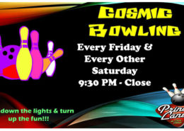 Cosmic Bowling at Princess Lanes Bowling Center in Caste Village