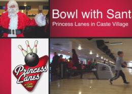 Bowling with Santa at Princess Lanes Bowling Center