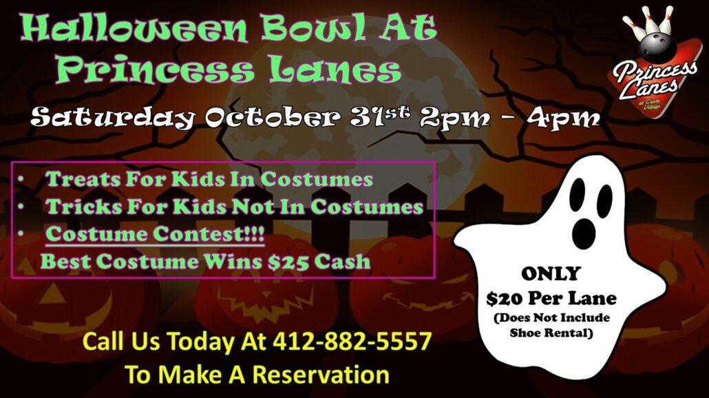 Halloween Bowling at Princess Lanes
