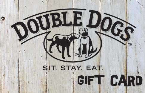 Double Dogs Gift Card