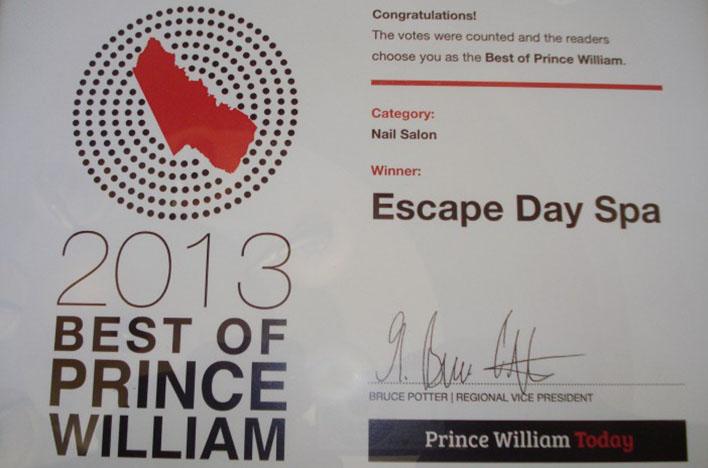 Escape Day Spa - Manassas, VA