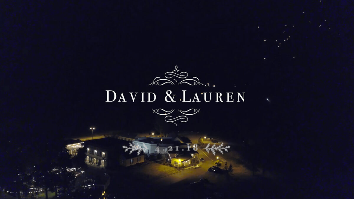 David & Lauren's Mississippi Wedding