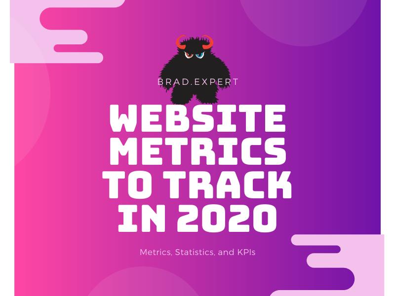 Website metrics to track in 202