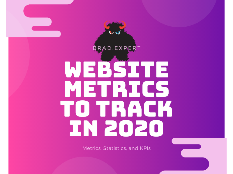 Website metrics to track in 202