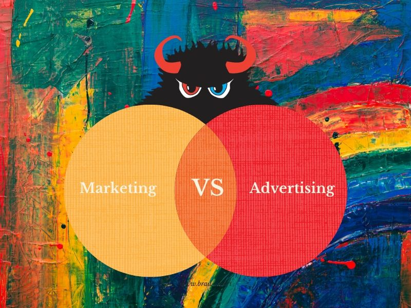 marketing vs advertisng