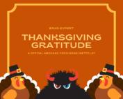 Thanksgiving Message from Brad Nietfeldt