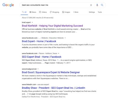 Manual Google Search