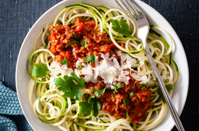 Bowl of Turkey Bolognese