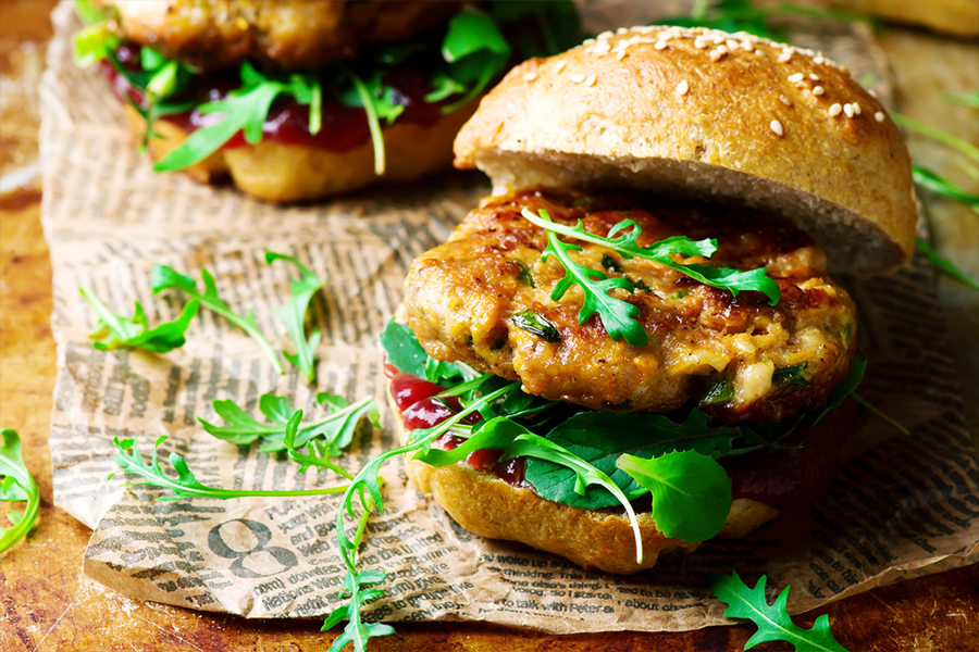 Turkey Cilantro Lime Burgers