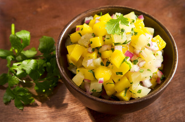 Bowl of Mango Salsa