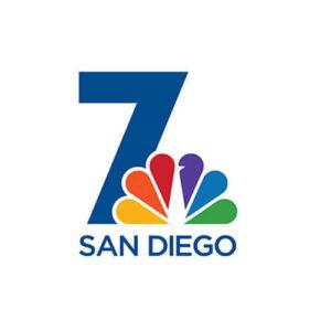 Logo for NBC 7 News