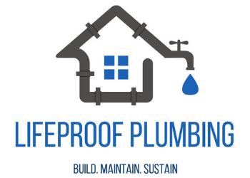 Lifeproof Plumbing Logo