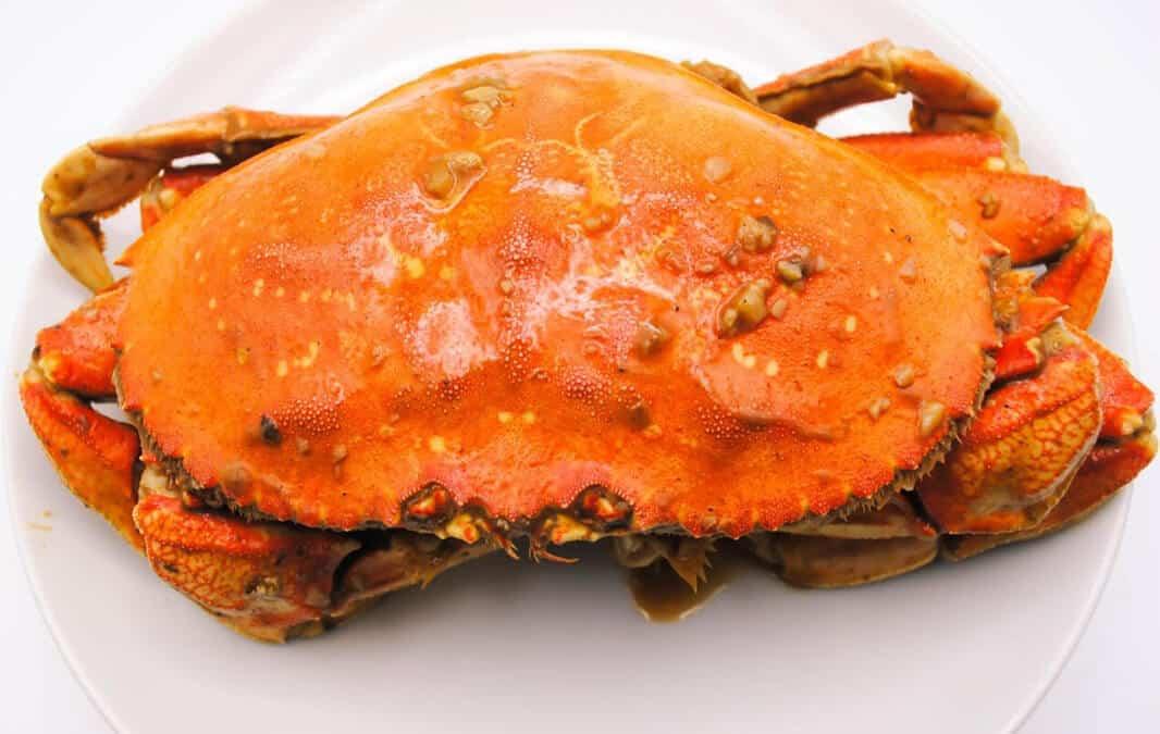 Crab at Crab Bite in Anaheim