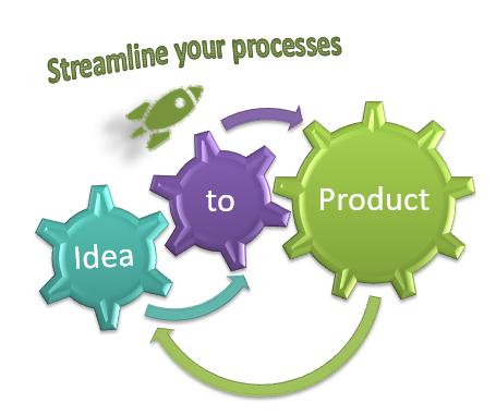 Kanban advantages: Kanban streamlines processes