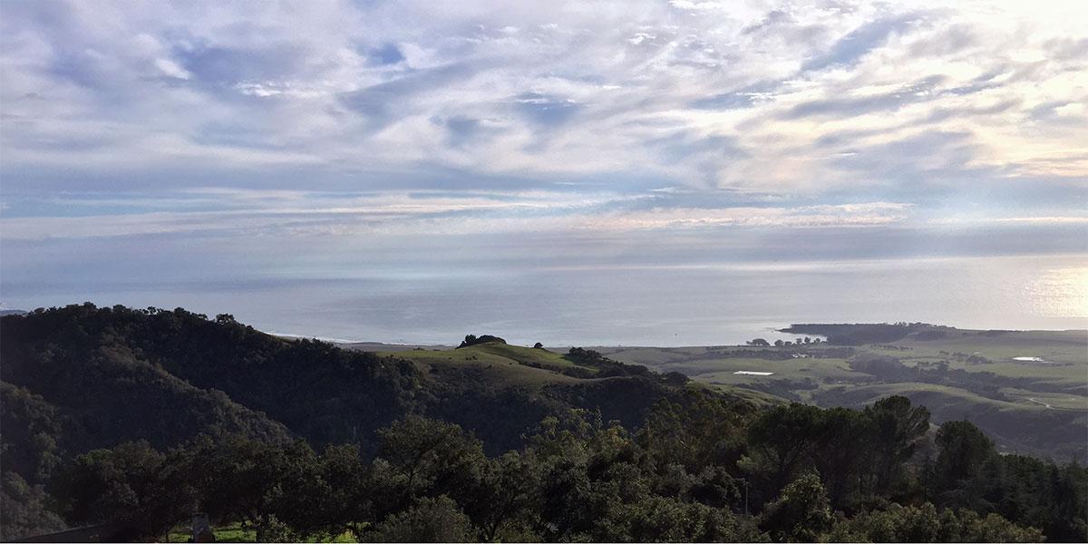 Hearst Castle ocean view