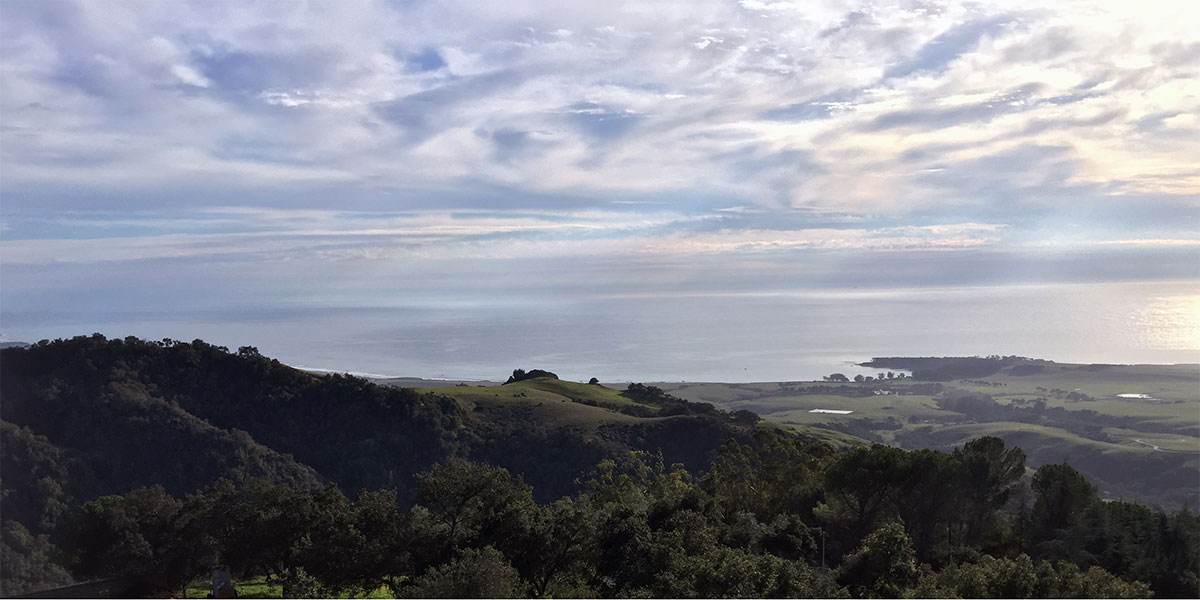 Hearst Castle ocean view